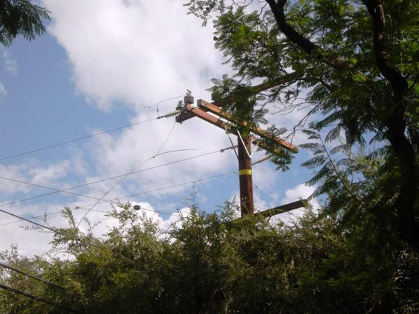 ABC7 viewer Egan Hernandez sent in this photo of fallen power lines in Fullerton following a rain storm on Friday, Oct. 1, 2010.  &#160;When you witness breaking news happen, send your photos to video@myabc7.com, or send them to @abc7 on Twitter <span class=meta>(ABC7 viewer Egan Hernandez)</span>