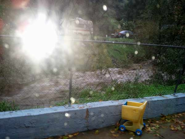ABC7 viewer George Smeatham sent in this photo from Silverado Creek, Calif. on Wednesday, Dec. 22, 2010.   When You Witness breaking news, or even something extraordinary, send pictures and video to video@myabc7.com, or send them to @abc7 on Twitter <span class=meta>(ABC7 viewer George Smeatham)</span>