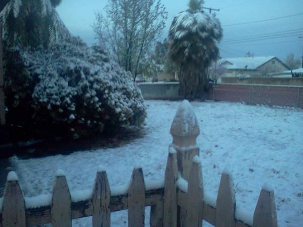 "<div class=""meta image-caption""><div class=""origin-logo origin-image ""><span></span></div><span class=""caption-text"">ABC7 viewer Irene sent in this photo of snow in Yucaipa, Calif. on Saturday April 9, 2011.  When You Witness breaking news, or even something extraordinary, send pictures and video to video@myabc7.com, or send them to @abc7 on Twitter  (KABC photo/ Irene)</span></div>"