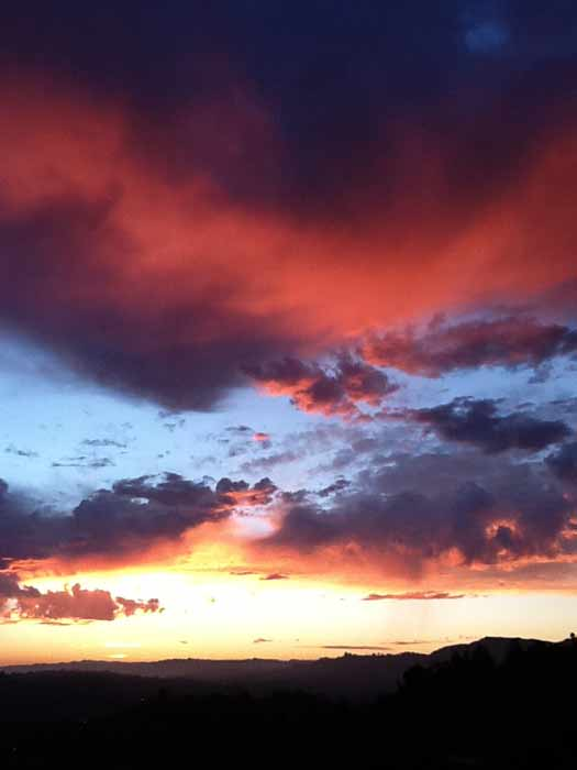 ABC7 viewer Steven and Ken Cosner sent in this photo of clouds at Mt. Washington, Los Angeles, Calif. on Friday Sept. 30, 2011.