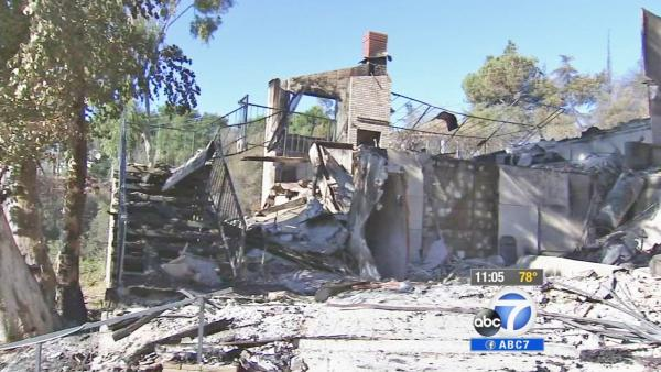 Glendora residents survey Colby Fire damage