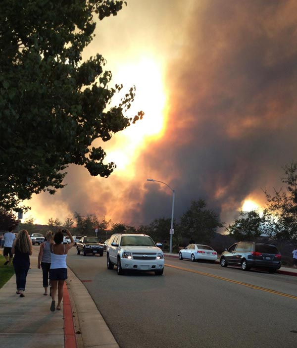 ABC7 viewer Teresa Parry Will posted this photo...