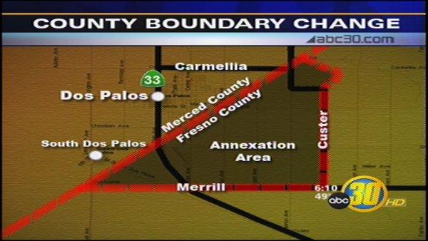 New Year Means New County Lines for Fresno and Merced