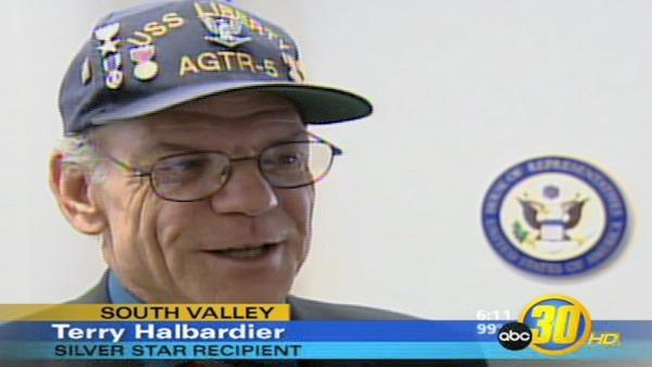 Valley Navy Veteran Receives Silver Star