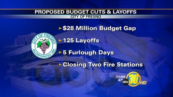 Fresno Mayor Proposes 125 Layoffs
