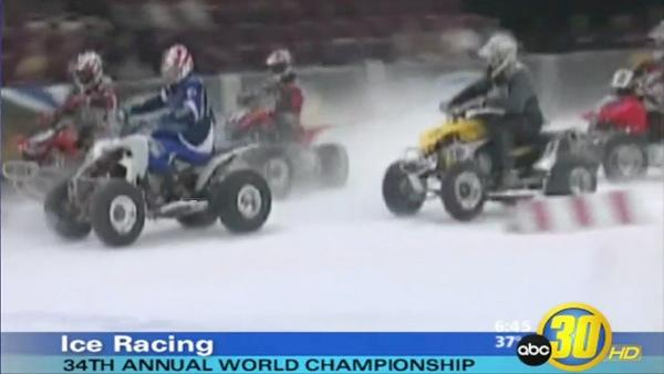 World Championship Ice Racing comes to Fresno