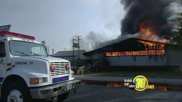 Fire Burns Dos Palos High Classrooms
