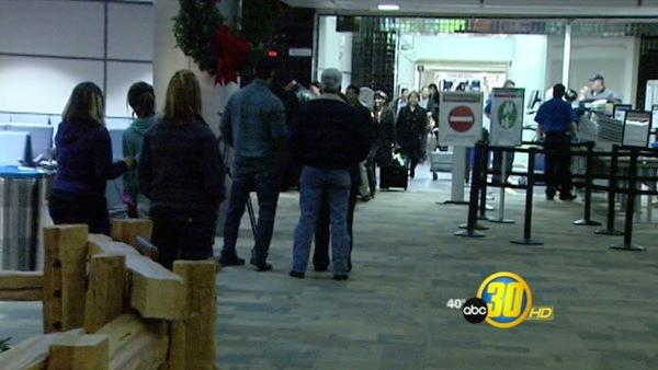 Fresno Travelers Don't See Evidence of Increased Security