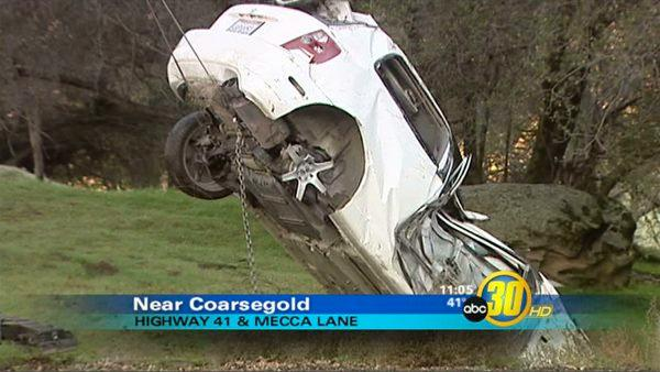 Deadly Crash Closes HWY 41 near Coarsegold