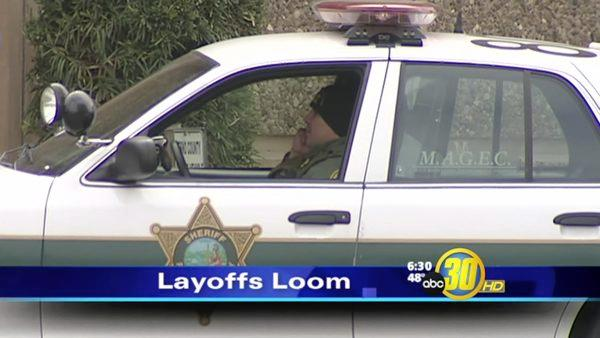 Layoffs Loom for Fresno County Sheriff's Office