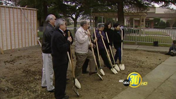 Groundbreaking For Merced Internment Memorial