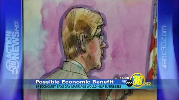 Economist Testifies in Prop 8 Federal Case