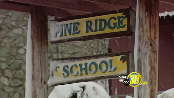 Snow Shutdown Schools in the Foothills