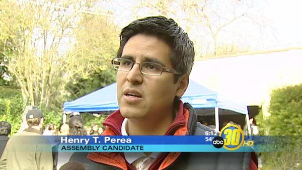 Perea  Kicks Off Campaign for Assembly Candidacy