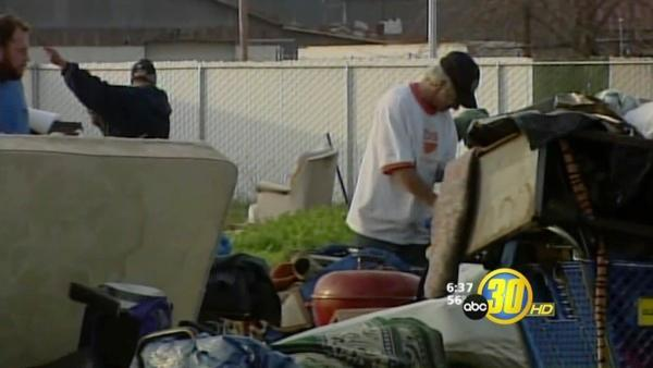 Protests Erupt During Homeless Eviction