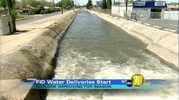 Water Deliveries Begin for Fresno Irrigation District