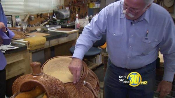 From Rodeo Cowboy to Custom Saddle Maker