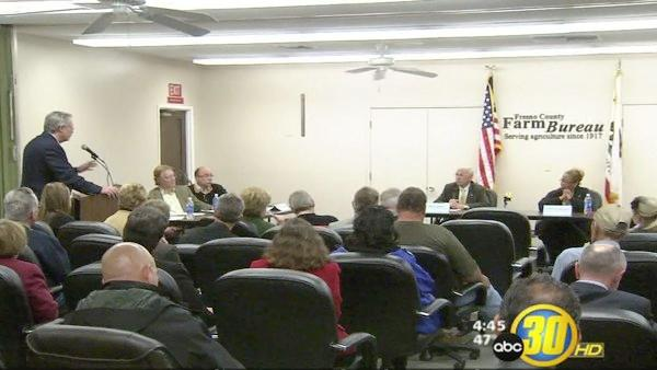 Fresno Farm Bureau hosts political debate