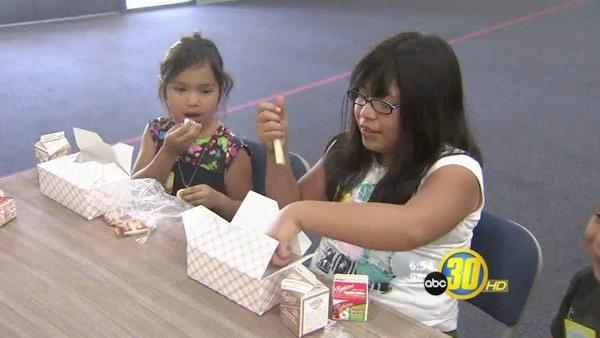 Fresno's Free Summer Lunch Program