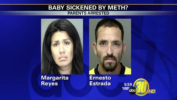 10-month-old found to be under influence of meth