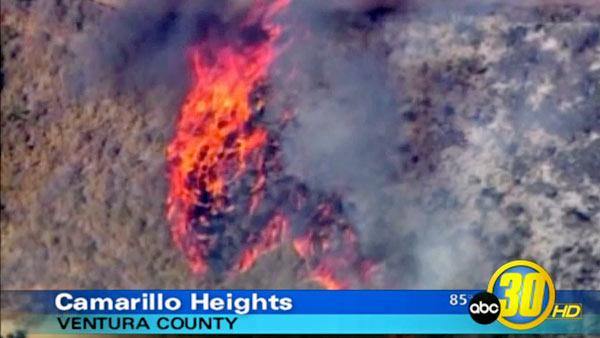 SoCal firefighters battle three wildfires