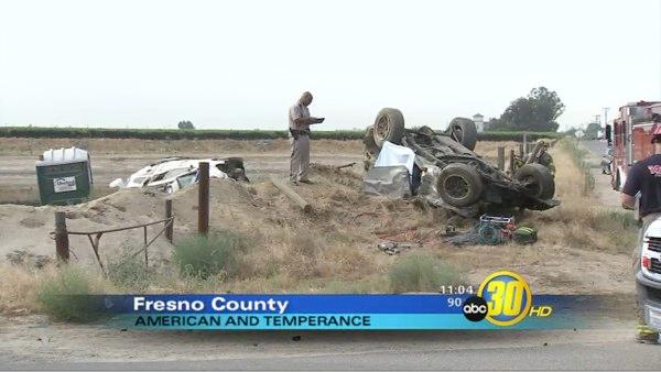 Two dead in Fresno County collision