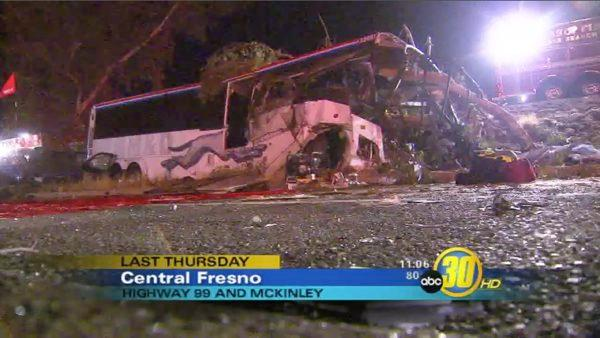 Fresno Bus Crash Update