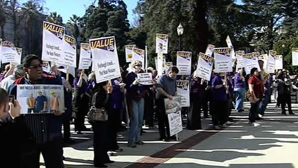 CA Supreme Court hears furlough debate