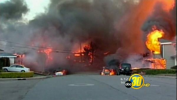 UPDATE: San Bruno Fire