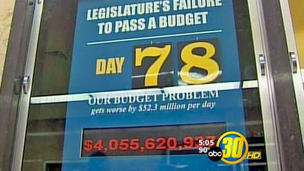 California budget impasse becomes longest ever