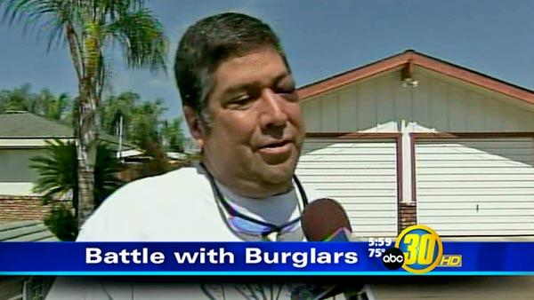 Father and son fight off burglars in Dinuba