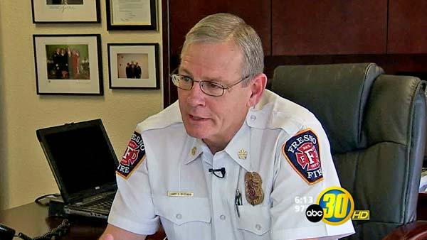 Fresno's Fire Chief reflects on his time with the department