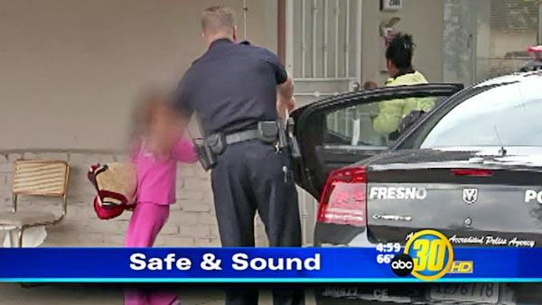 Fresno girl safe at home after abduction, suspect behind bars