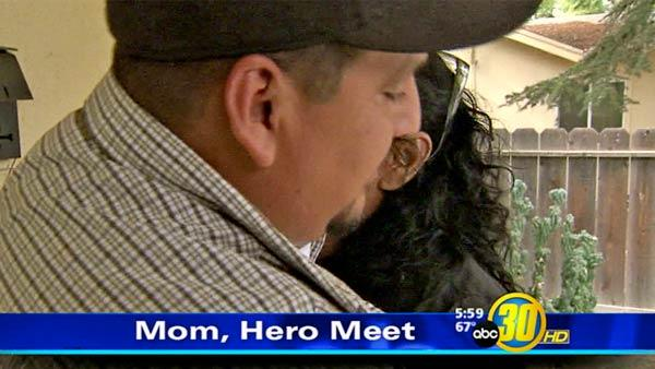 Fresno's Good Samaritan meets mother of girl he saved