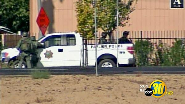 Lockdown lifted for Parlier schools; suspect in custody