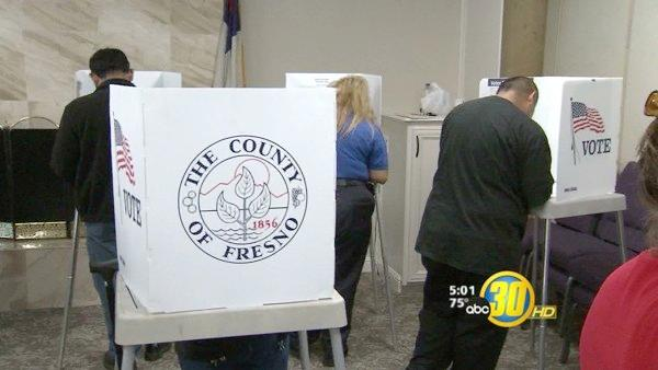Fresno Co. voters experience delays at polls