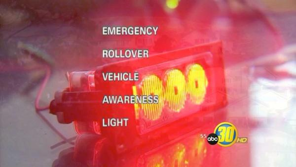 New invention alerts drivers in rollover accidents