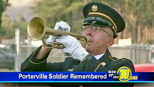 Porterville solider killed in Afghanistan laid to rest