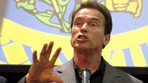 Schwarzenegger says cuts are