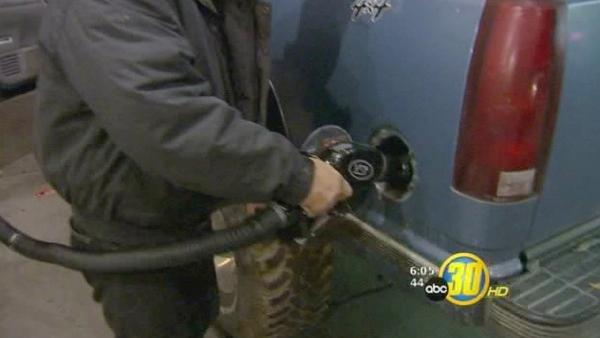 Gas prices highest in pre-Christmas history