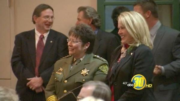 Two Fresno county officials are sworn into office
