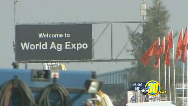 World Ag Expo hopes sunny weather helps attendance