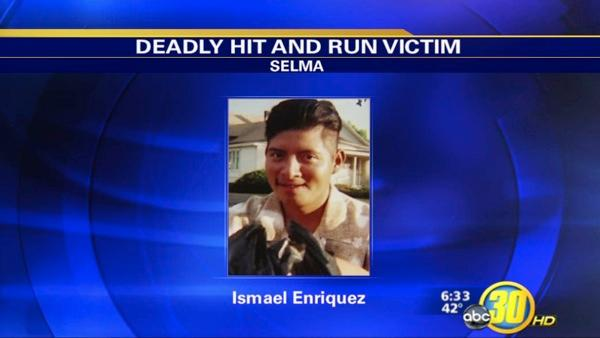Selma Police search for Hit and Run Suspect