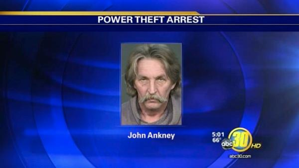 Fresno Co. man accused of stealing electricity to grow pot