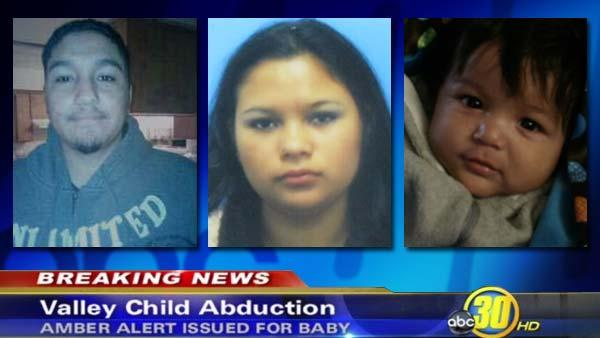 Amber Alert issued for 8-month-old Porterville boy