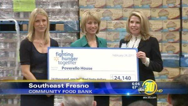 Walmart hands over $100,000 to Fresno
