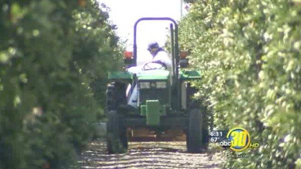 Valley farmers concerned with rising diesel fuel costs