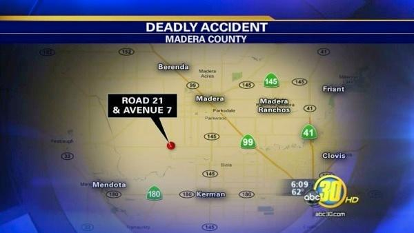 Child killed in Madera car accident