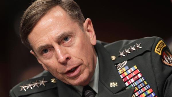 Gen. David Petraeus, commander of U.S. and NATO forces in Afghanistan, testifies on Capitol Hill in Washington, Tuesday, March 15, 2011, before the Senate Armed Services Committee hearing o