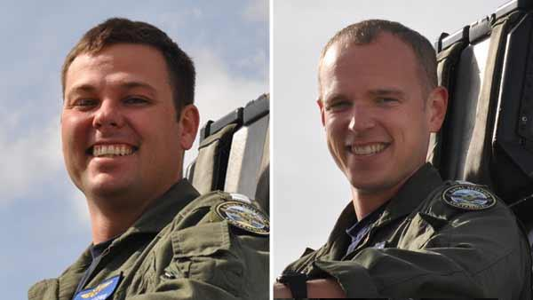 Lemoore Naval officers killed in jet crash ID'd